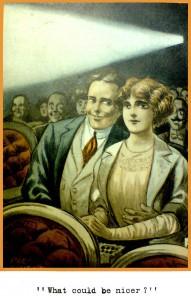 Cinema postcard